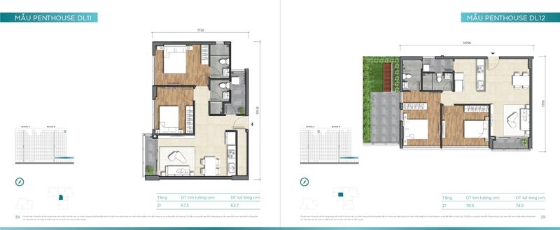 Mặt bằng chi tiết mẫu căn hộ của dự án D'lusso Quận 2 du can can ho chung cu dlussso quan 2 mat bang chi tiet can ho 0021