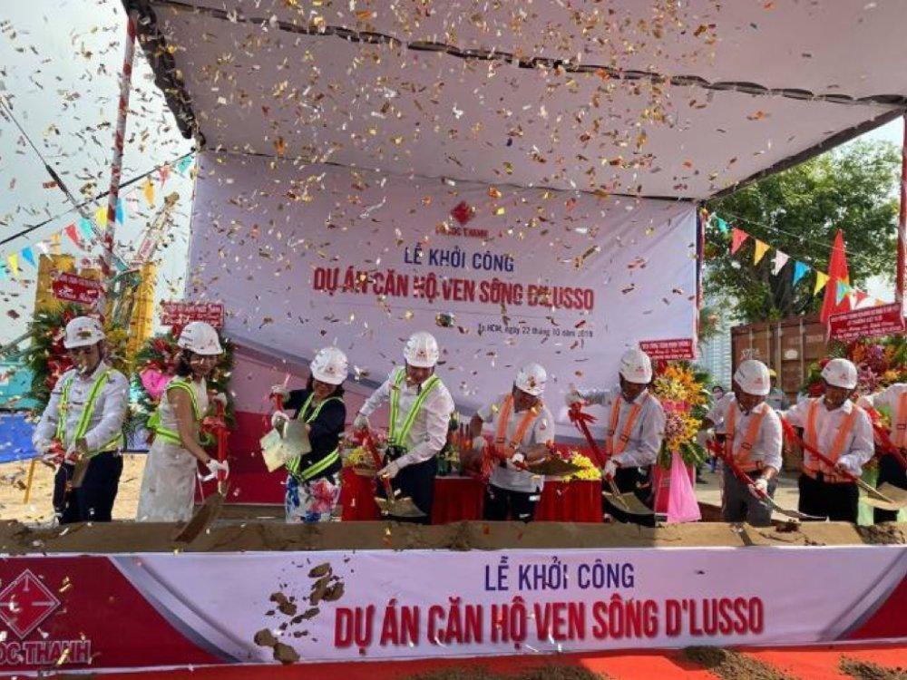 Lễ khởi công dự án ven sông D'Lusso Emerald quận 2