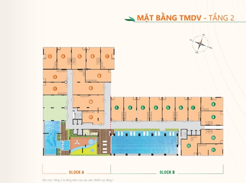 Mặt bằng tầng điển hình dự án căn hộ Ricca quận 9 du an can ho ricca quan 9 mat bang tang dien hinh 1
