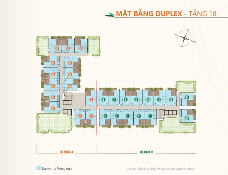 Mặt bằng tầng điển hình dự án căn hộ Ricca quận 9 du an can ho ricca quan 9 mat bang tang dien hinh 5