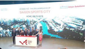 Chính thức động thổ siêu dự án Saigon Sports City của Keppel Land