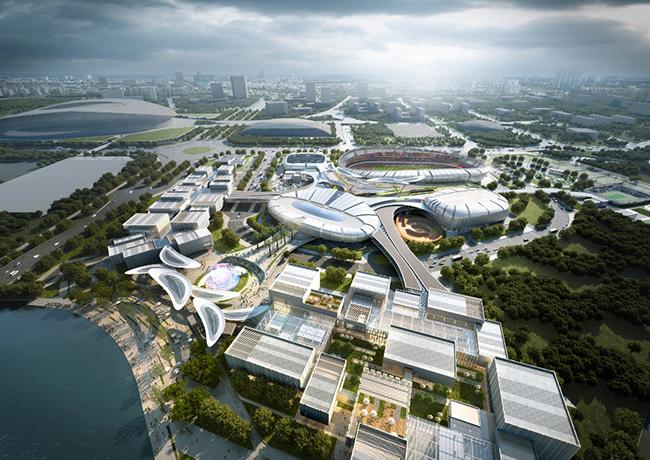 Phối cảnh dự án khu thể thao Saigon Sports City Quận 2