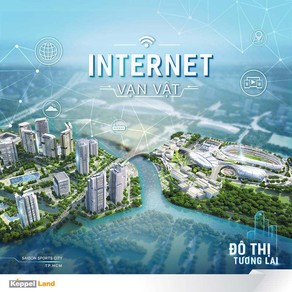 Dự án căn hộ Saigon Sports City được thiết kế theo công nghệ đô thị thông minh 4.0