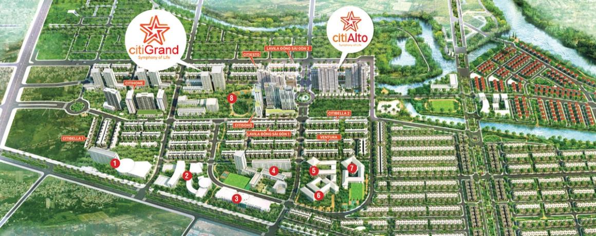 Tiện ích ngoại khu dự án căn hộ Citi Grand Quận 2