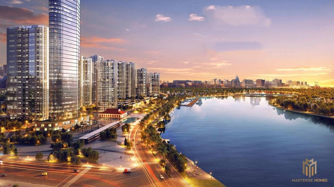 TIện ích View Sông Sài Gòn tại Dự án Masterise Ba Son Quận 1