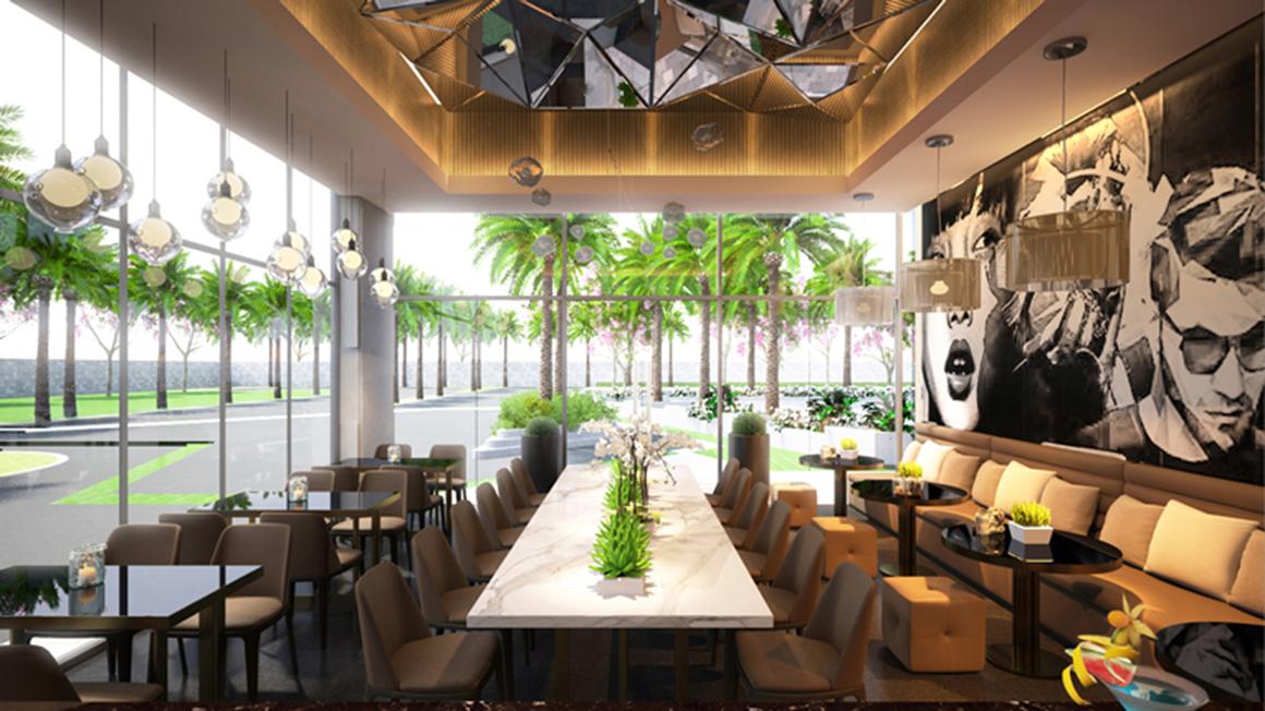 Cafe shop tại dự án Lux Star Quận 7