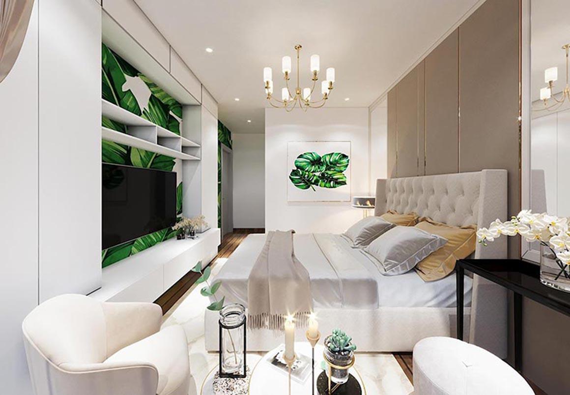 Căn hộ mẫu Phòng ngủ Minh Quốc Plaza