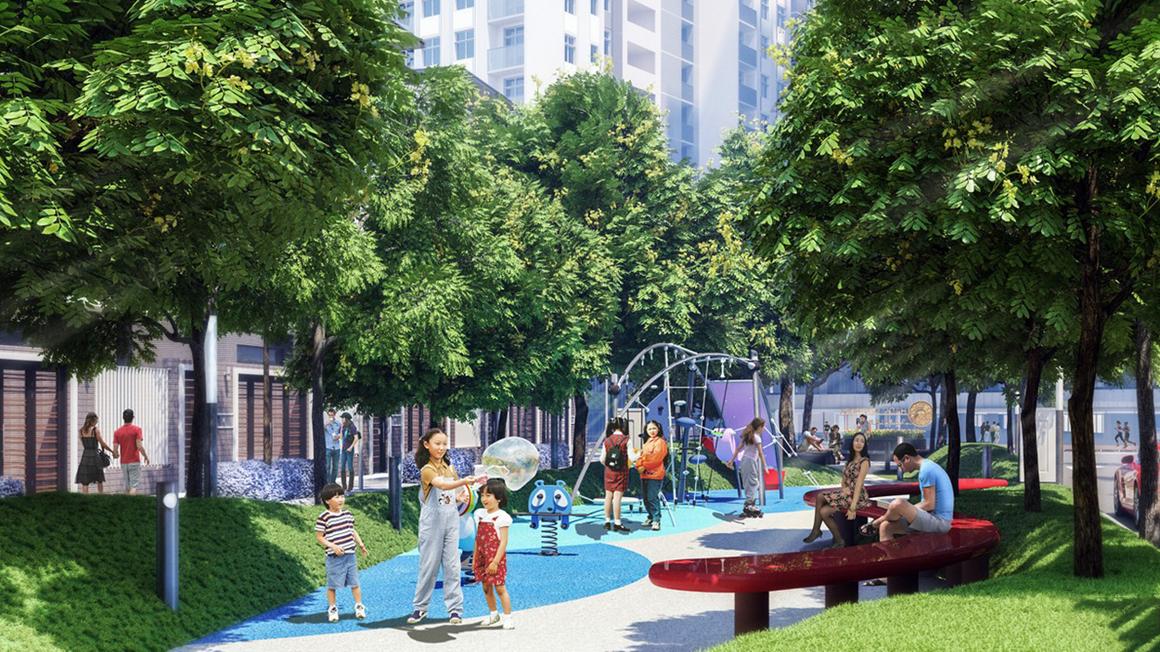 Công viên dự án Hado Garden Homes