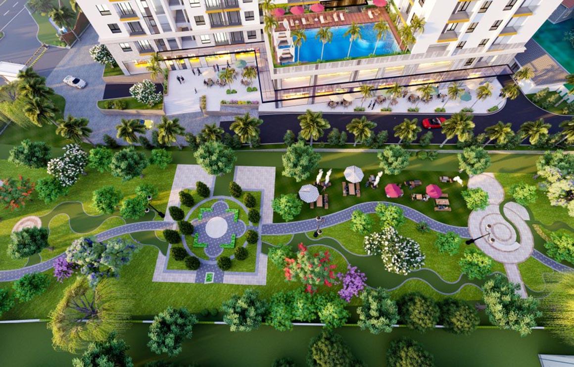 Công viên dự án Minh Quốc plaza