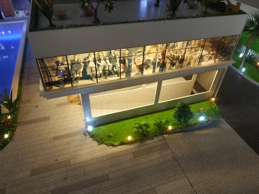 Hình ảnh về trung tâm thương mại và shophouse ngay tần trệt dự án