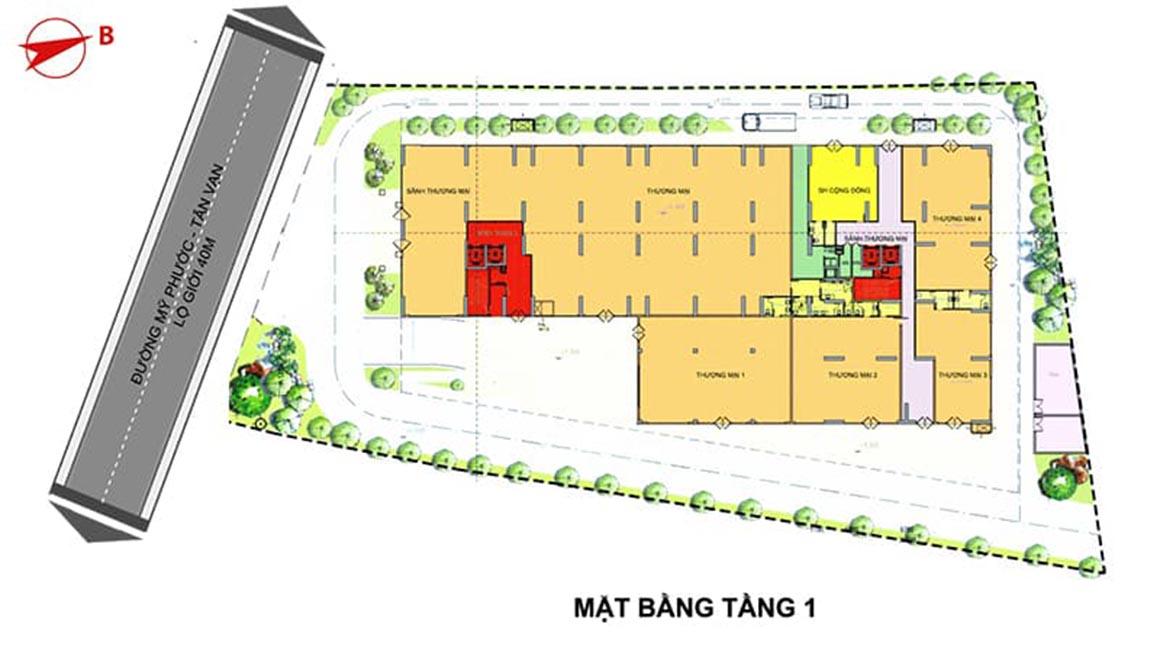 MBT 1 Dự án Minh Quốc Plaza