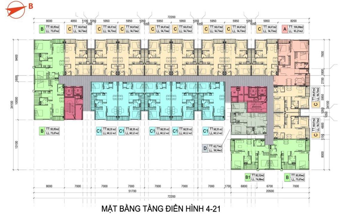 MBT 4 - 21 dự án Minh Quốc Plaza
