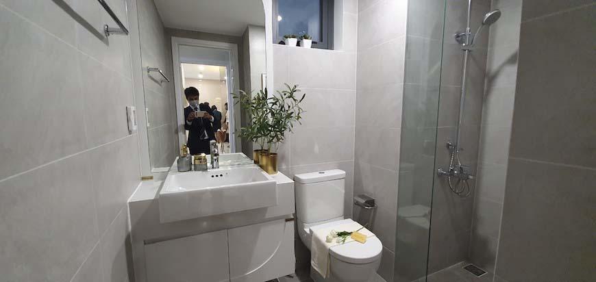 Nhà vệ sinh cho nhà mẫu D'lusso Quận 2