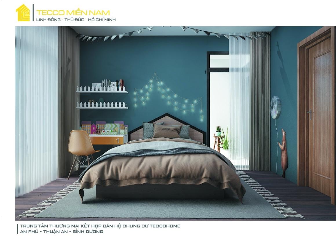 Nhà mẫu căn hộ Tecco Home BD 3