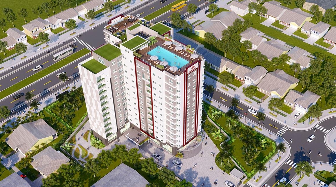 Phối cảnh dự án căn hộ Golden Grand