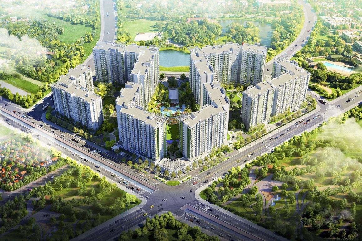Phối cảnh tổng thể dự án Milky Way Bình Tân