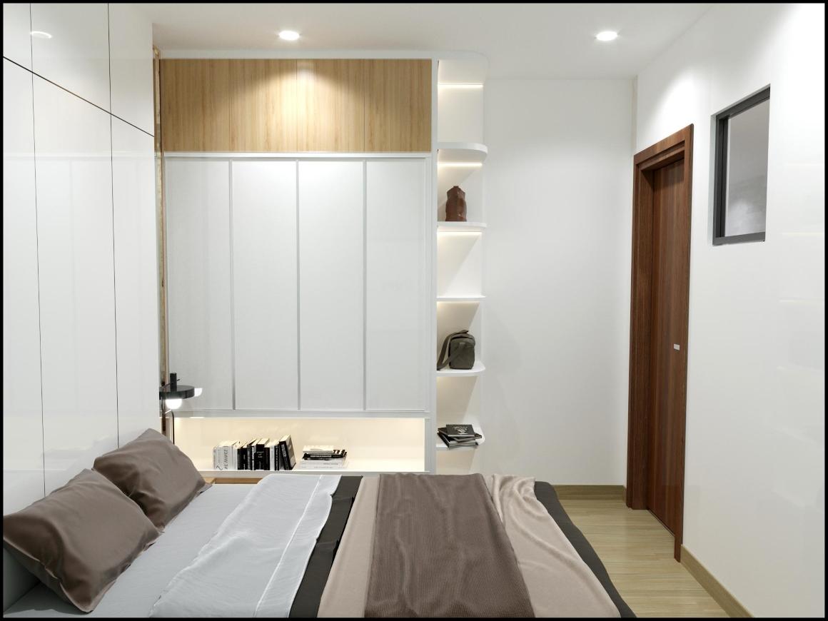 Phòng ngủ dự án Viva Plaza Quận 7