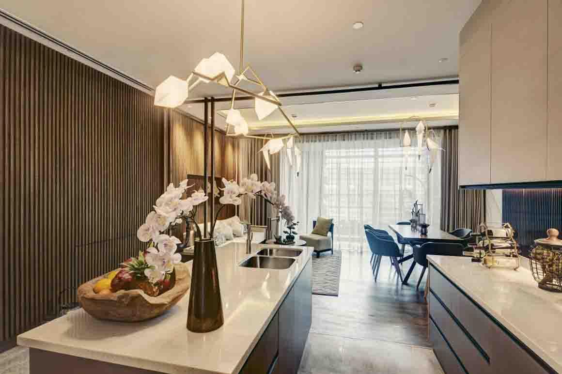 Thiết kế phòng bếp căn hộ dự án D'EDGE THẢO ĐIỀN (1)