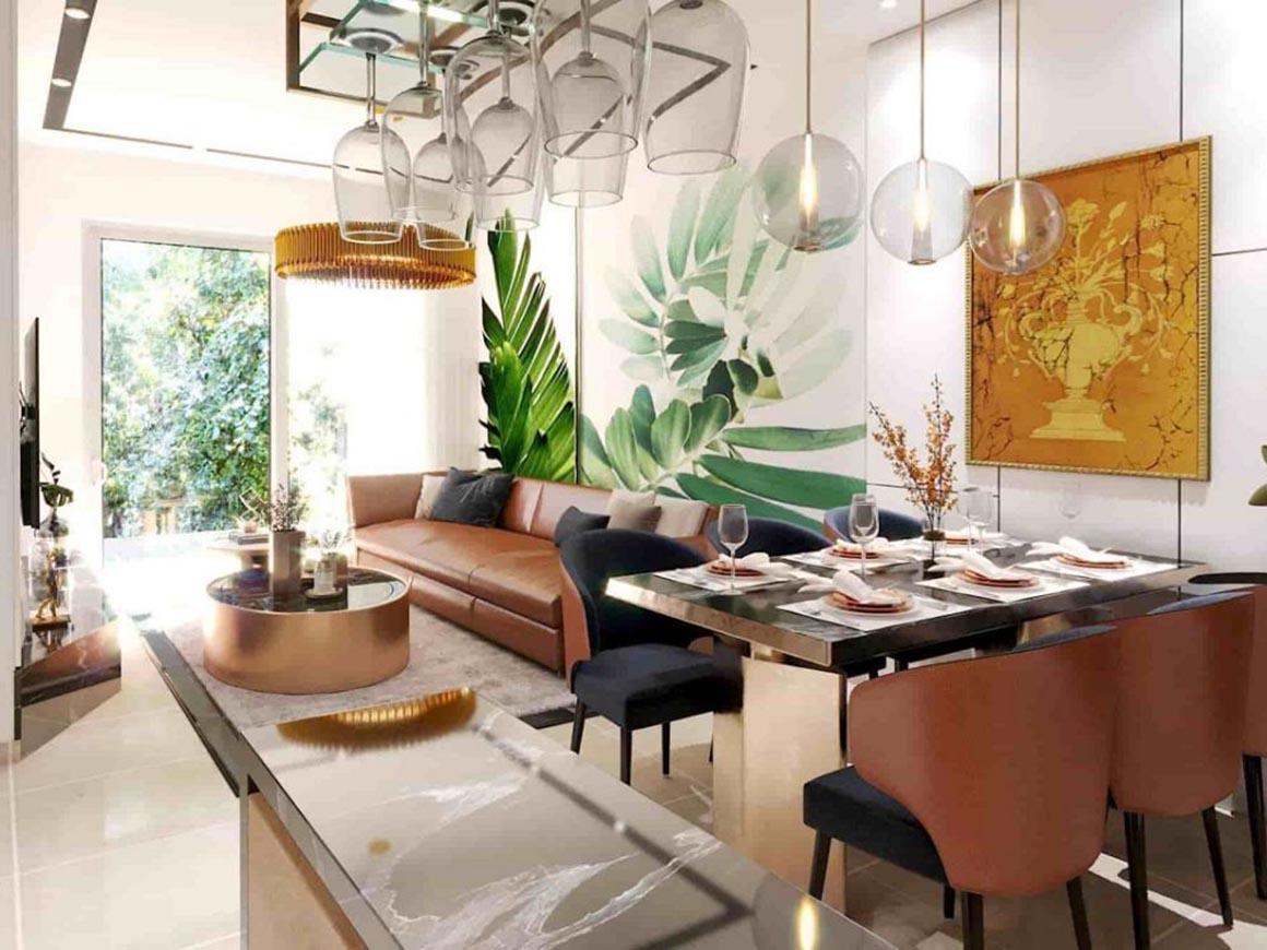 Thiết kế Phòng khách Minh Quốc Plaza