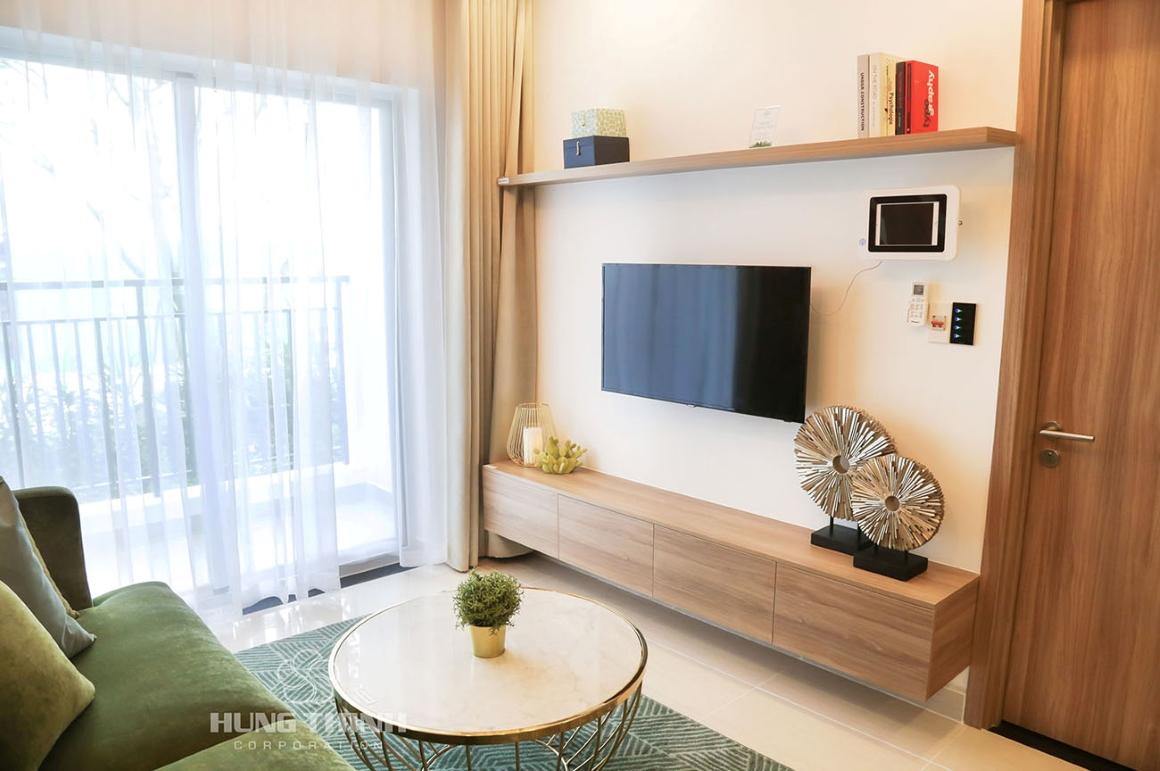 Thiết kế phòng khách - Nhà mẫu dự án New Galaxy (1)