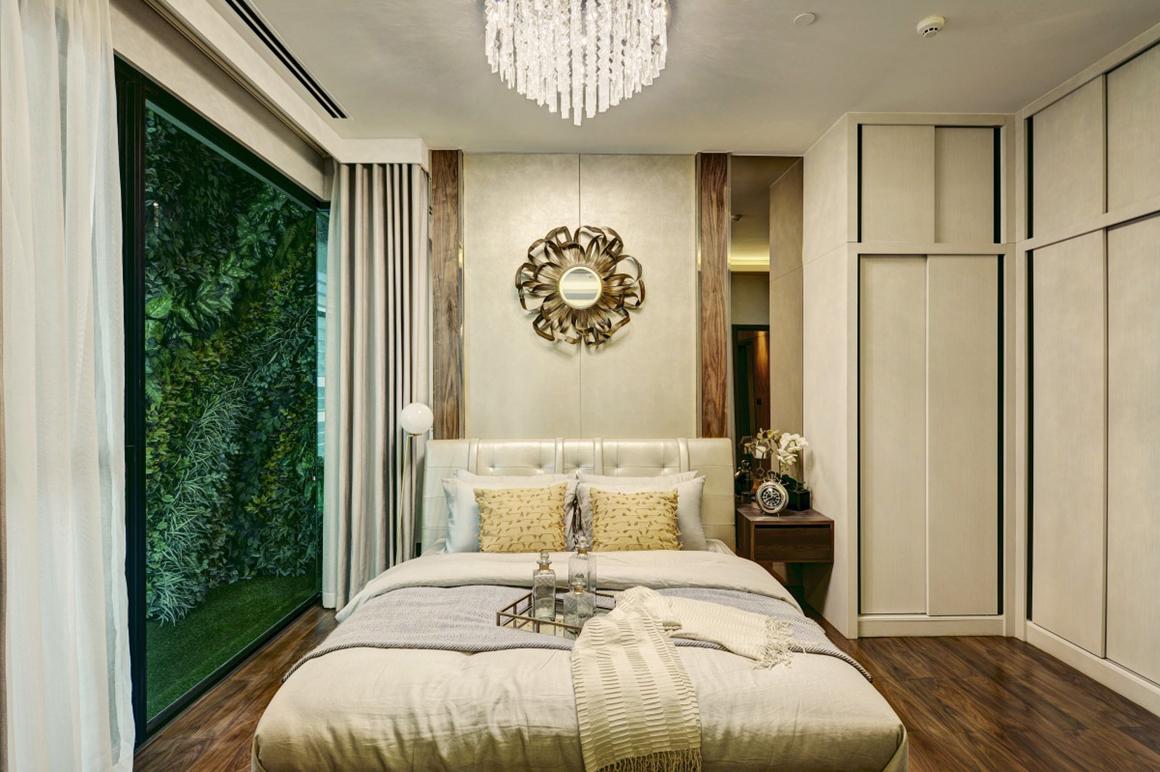 Thiết kế phòng ngủ căn hộ dự án D'EDGE THẢO ĐIỀN