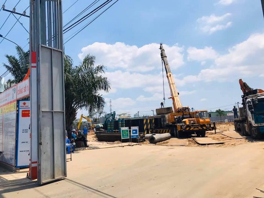 Dự kiến tháng 05/2020 dự án sẽ hoàn thiện móng cọc và phần hầm