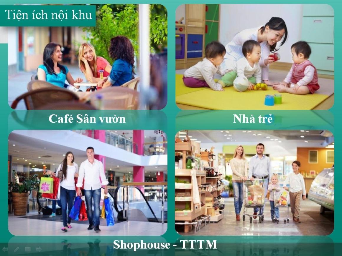 TIện ích nội khu dự án Tecco Home BD