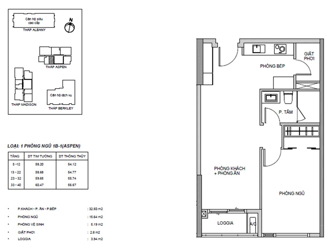 1 Phòng ngủ dự án GATEWAY THẢO ĐIỀN QUẬN 2