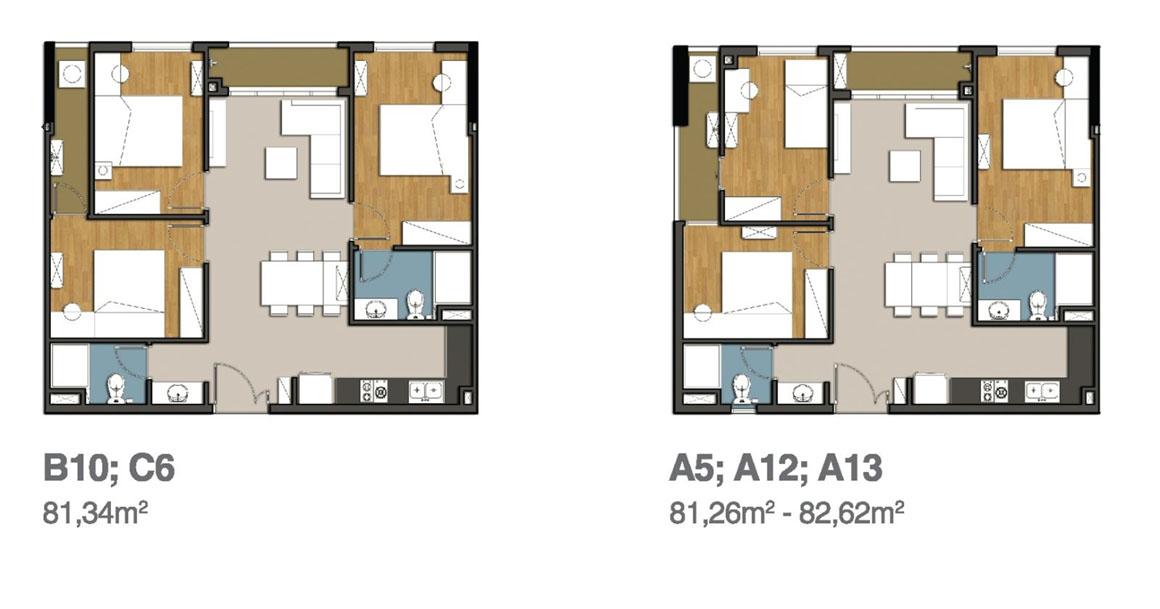 Cân hộ 3PN MB 9 View Apartment