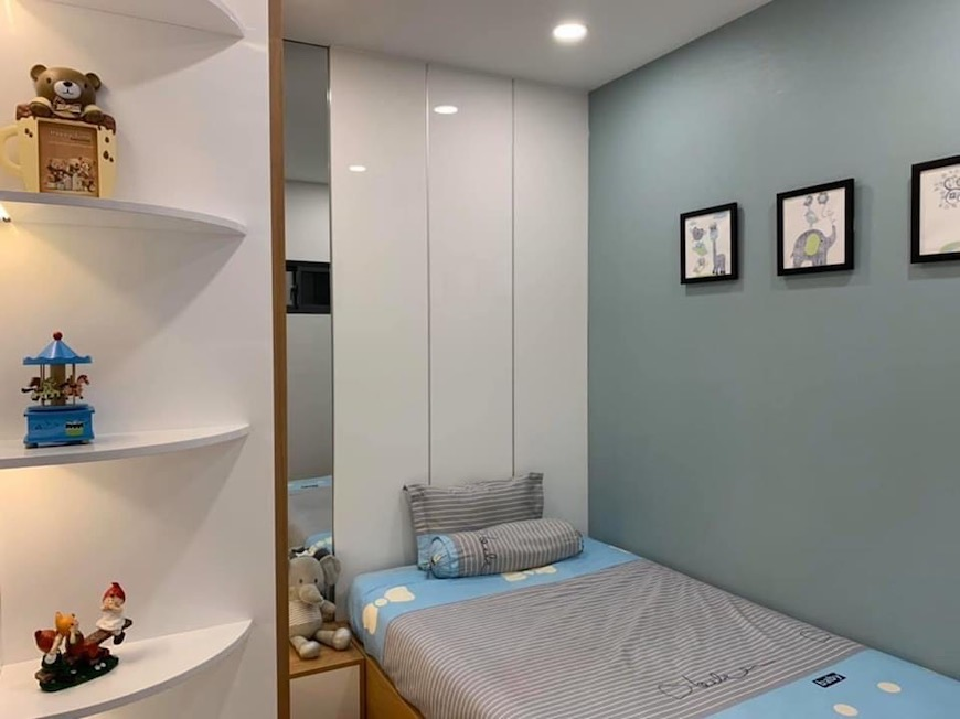 Phòng ngủ căn hộ D'lusso Quận 2