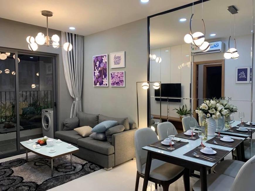 Phối cảnh nhà mẫu căn hộ Bcons Green View