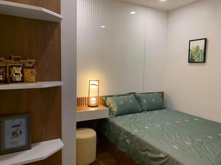 Thiết kế phòng ngủ chính nhà mẫu căn hộ D'lusso Quận 2