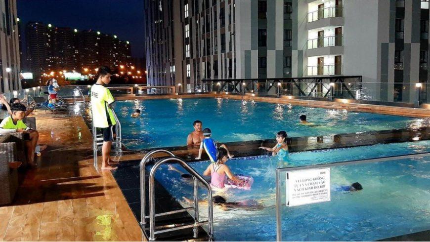 Cư dân khi sinh sống tại Centana Thủ Thiêm được sử dụng hồ bơi miễn phí