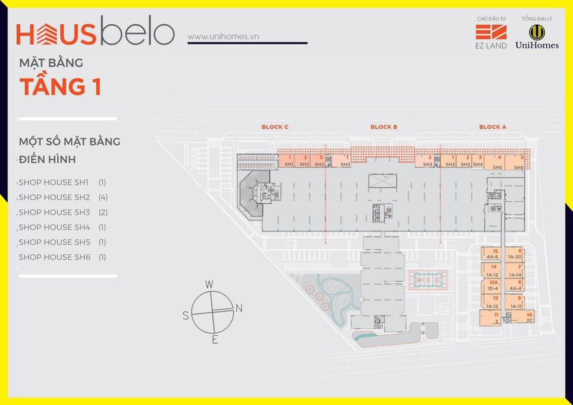 MBT 1 dự án Hausbelo quận 9