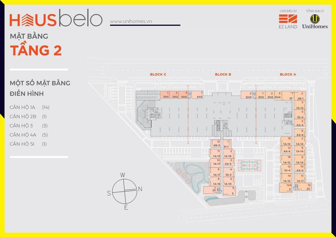MBT 2 dự án Hausbelo quận 9
