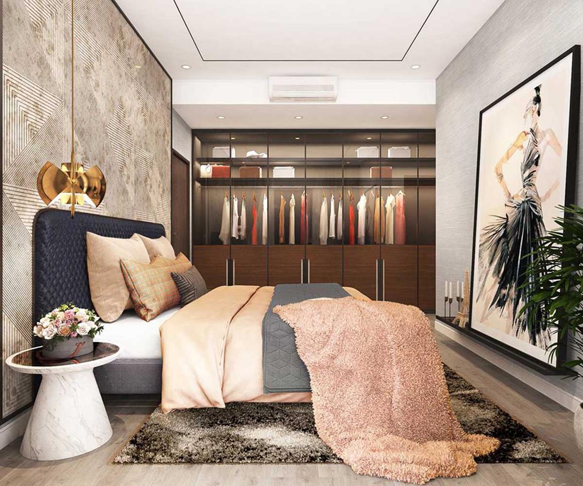 Phòng ngủ dự án Celesta Rise Nhà Bè