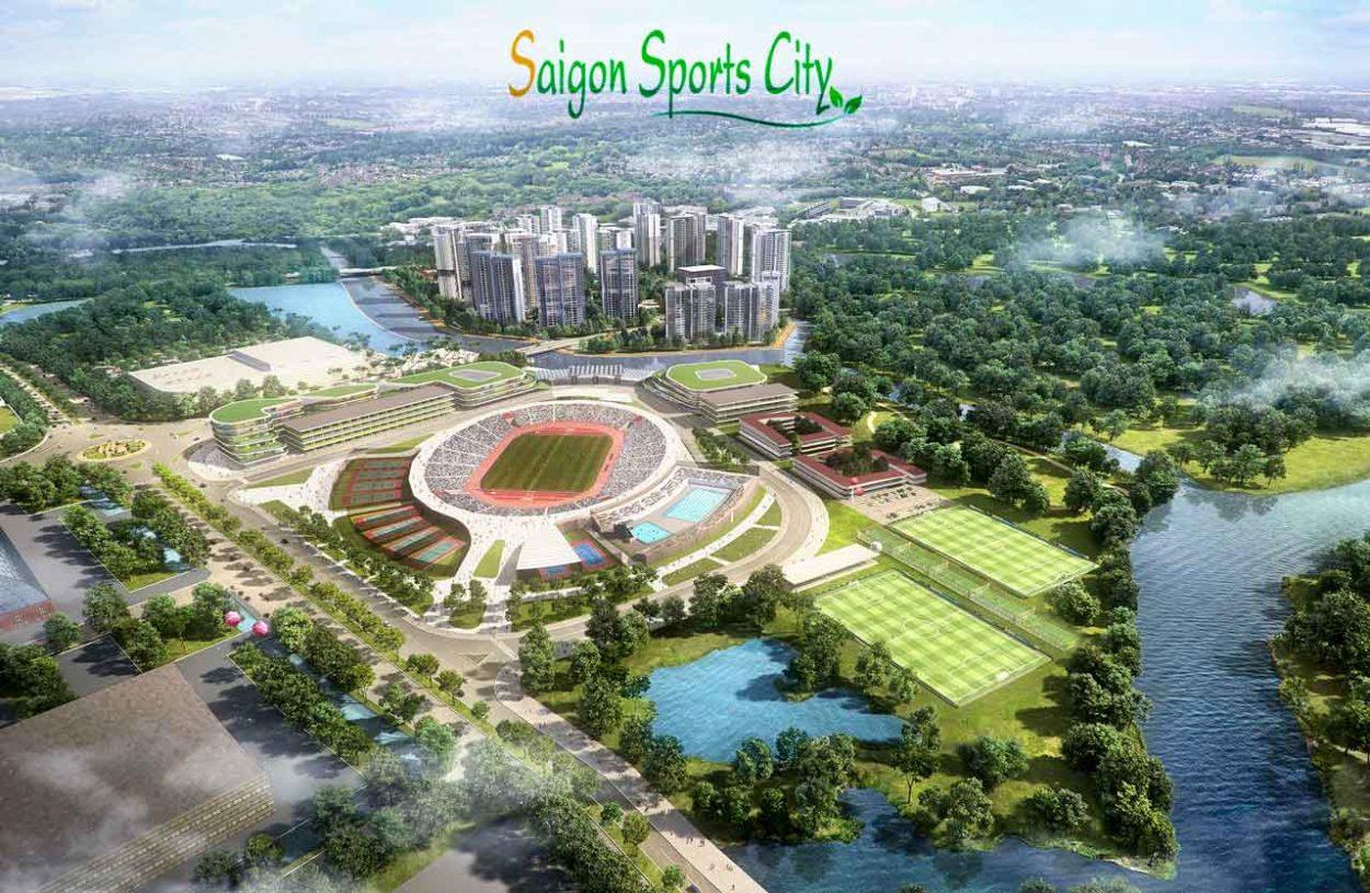 Phối cảnh dự án Sài Gòn Sport City. Top 7 danh sách căn hộ quận 2 mở bán năm 2020