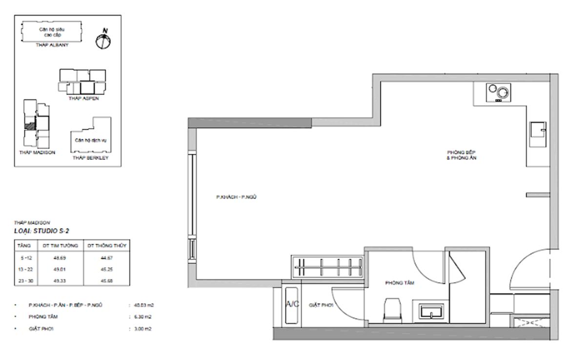 Studio s2 dự án GATEWAY THẢO ĐIỀN QUẬN 2