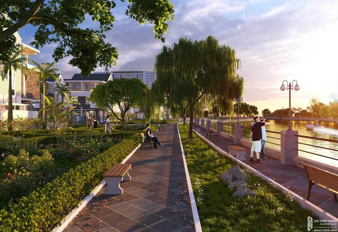 Tiện ích dự án căn hộ chung cư Hồ Gươm Xanh Thuận An City Thuận An Đường 136 ĐL Bình Dương chủ đầu tư TBS Land