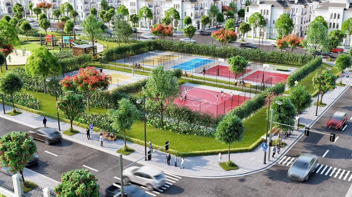 Công Viên Manhattan dự án Vinhomes Grand Park