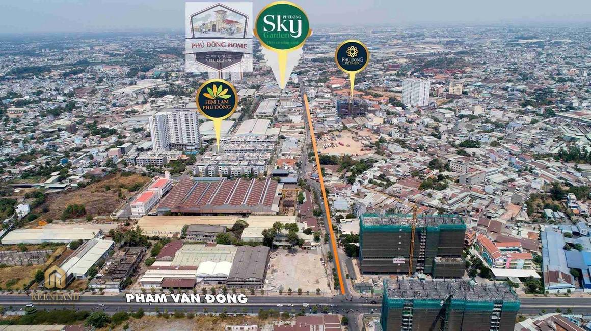 Mua bán cho thuê dự án Phú Đông Sky Garden
