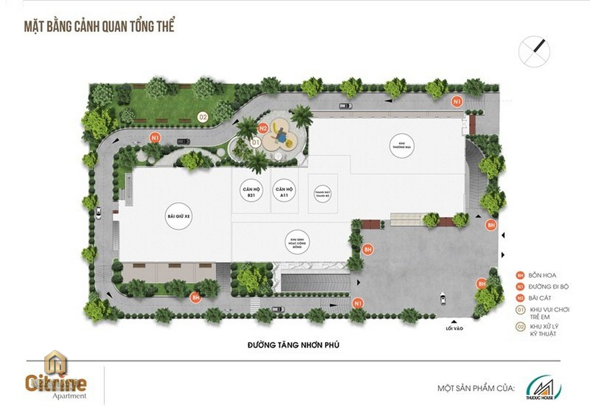Mua bán cho thuê dự án Citrine Apartment