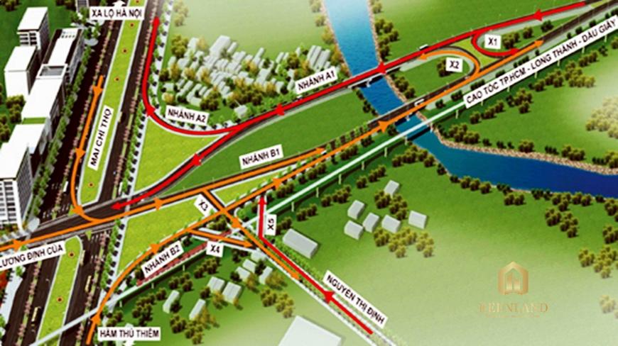 Quy hoạch nút giao thông An Phú Quận 2