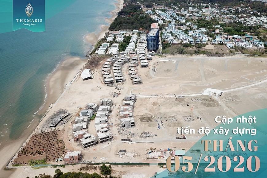 Tiến độ xây dựng dự án The Maris Vũng Tàu Tháng 05_2020