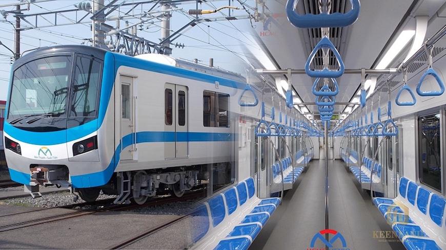 Tàu điện ngầm Metro Sài Gòn Suối Tiên đã về tới Tp. HCM