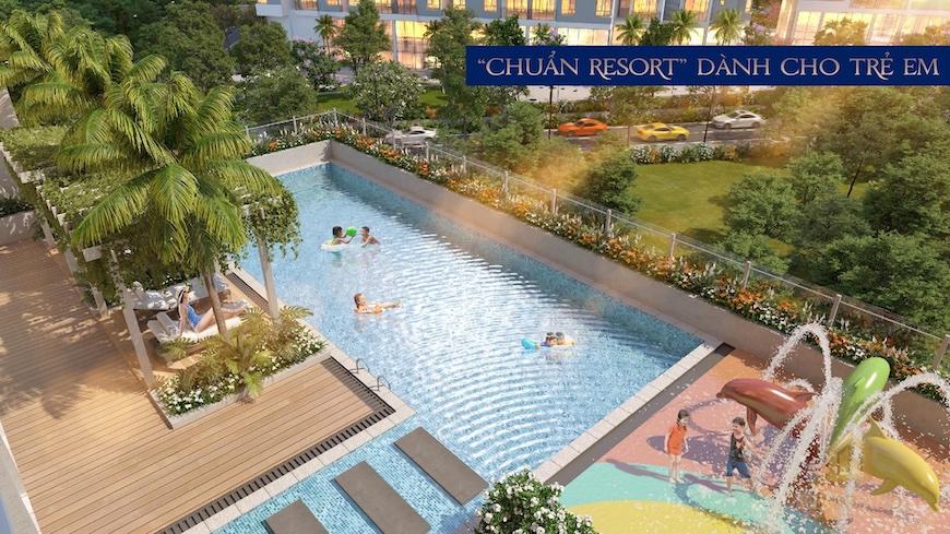 Tiện ích dự án căn hộ Precia Quận 2 hồ bơi trẻ em
