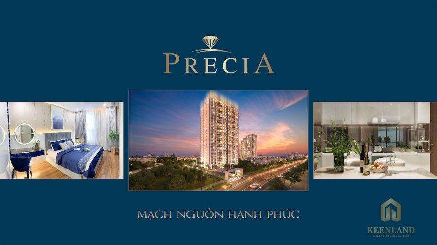 Chủ đầu tư dự án căn hộ Precia là Công ty Minh Thông (Thành viên Điền Phúc Thành)