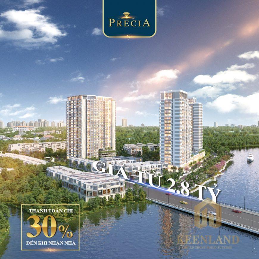 Phối cảnh căn hộ precia Quận 2 - Dự án đầu tiên trong danh sách căn hộ Quận 2 đủ pháp lý mở bán năm 2020
