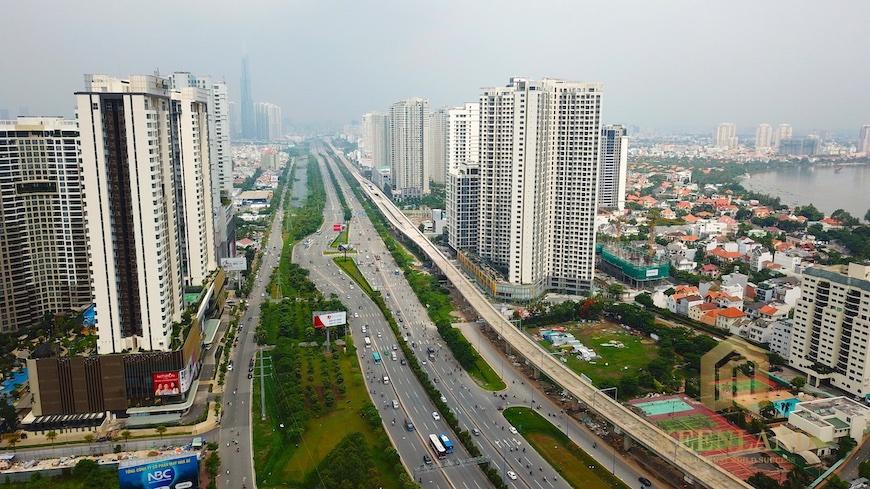 Cơ sở hạ tầng khu Đông TP HCM đang dần hoàn thiện và phát triển mạnh trong giai đoạn 2020 - 2025
