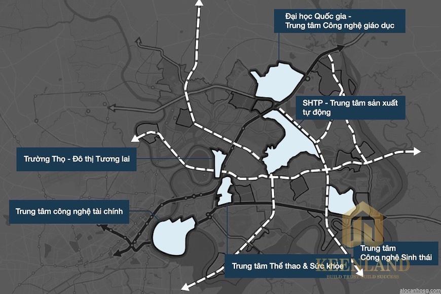 Quy hoạch khu Đông TP HCM sẽ trở thành thành phố trong lòng thành phố